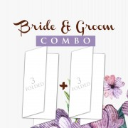 Bride Groom Combo A4 fold  1000+1000