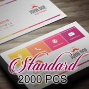 2000 PCS Standard Business Card