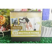 Desk Calendar Ready Made YOU ARE MY MOTIVATIONS