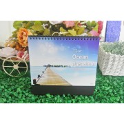 Desk Calendar Ready Made THE OCEAN PARADISE