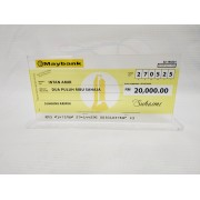 Mock Up Cheque / Cek Full Colour
