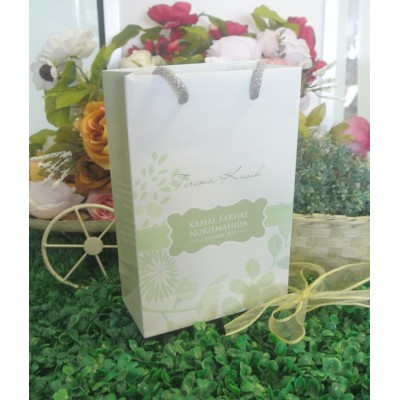 Paper Bag L Dolly E Green