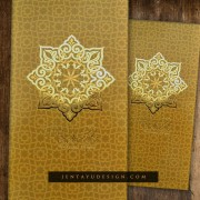 Sampul Duit Raya Ready Made 01 GOLD