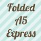 Folded A5 Express (0)