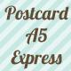 Postcard A5 Express (0)