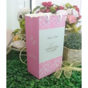 Paper Bag Tall Lace Pink