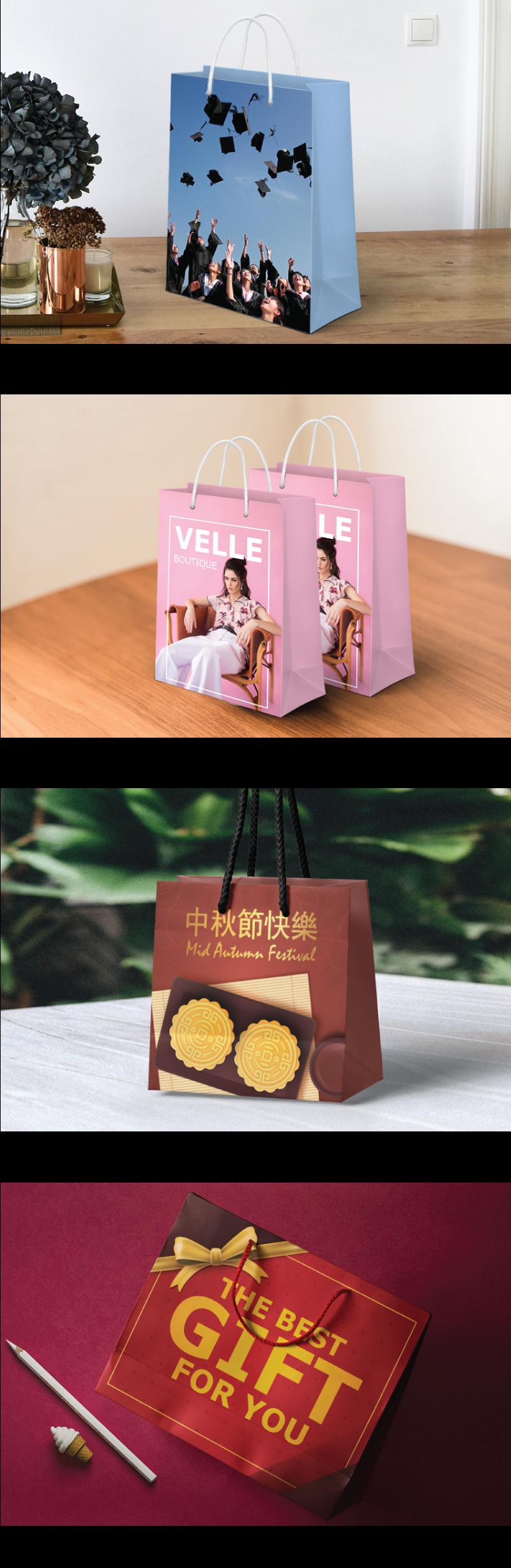 jentayu design paper bag beg kertas